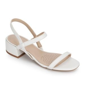 Kenneth Cole Maisie Low Simple Leather Sandal